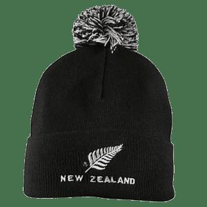 NZ Fern Pom Pom Beanie