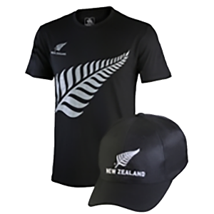 New Zealand Tee/Cap Combo