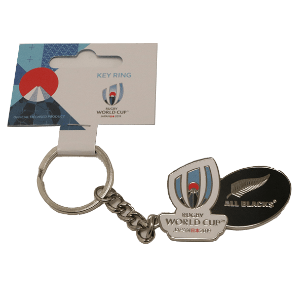 All Blacks RWC Logo Keyring