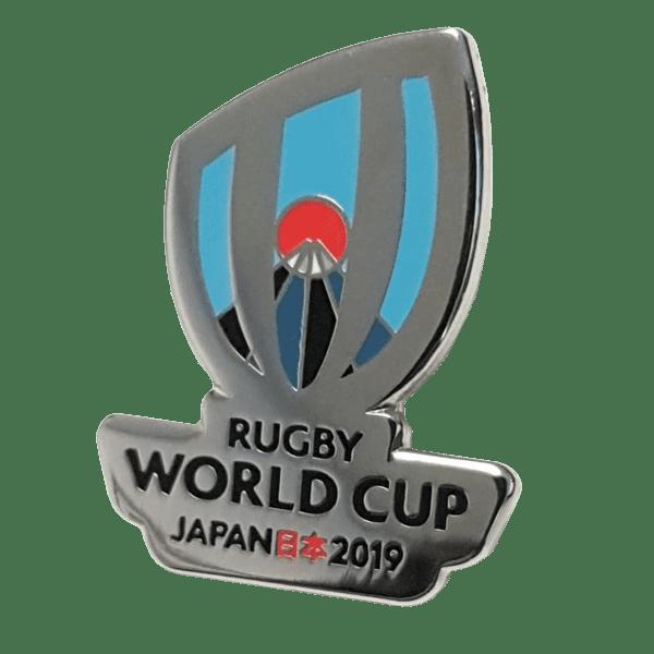 RWC Silver Logo Pin