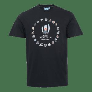 RWC 20 Nations Logo T Shirt