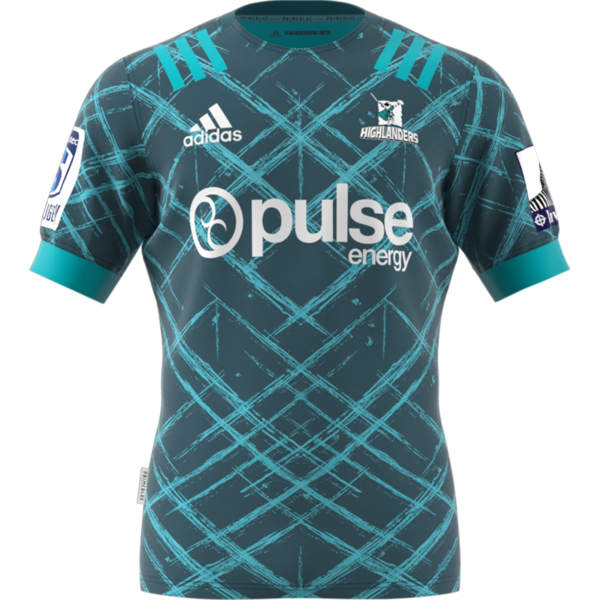 Highlanders Primeblue Super Rugby Away Jersey