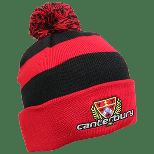 Canterbury Rugby Pom Pom Beanie