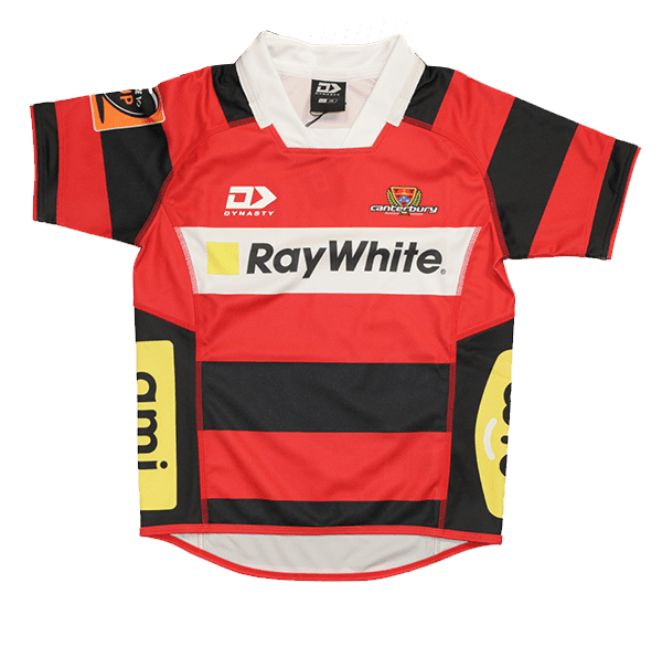 Canterbury Rugby Kids Home Jersey 2019