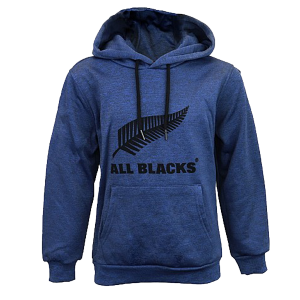 All Blacks Kids Blue Pull on Hoodie