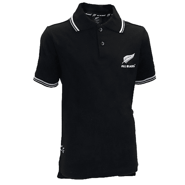 All Blacks Youth Polo Shirt