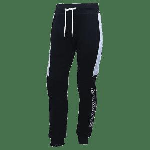 All Blacks Contrast Fleece Trackpant
