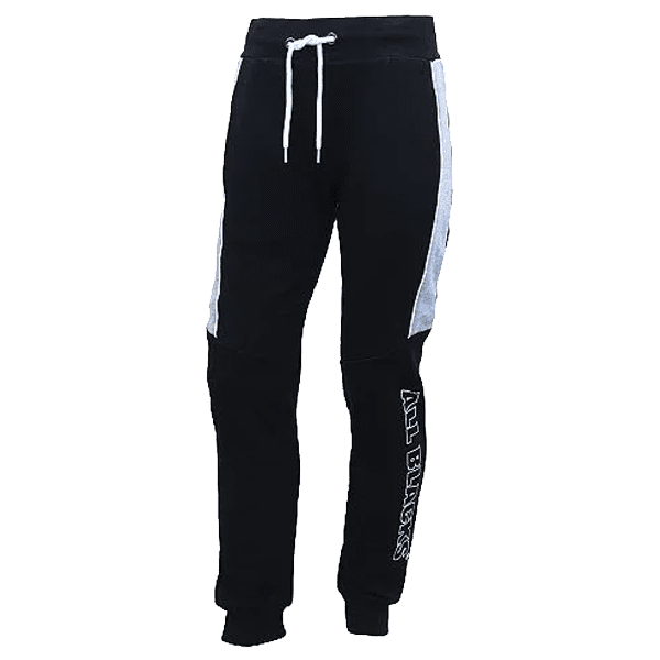 All Blacks Contrast Fleece Trackpant