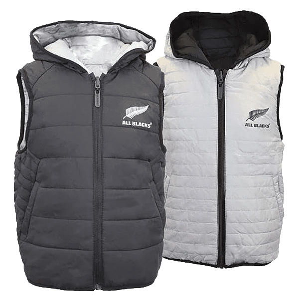 All Blacks Reversible Puffa Vest