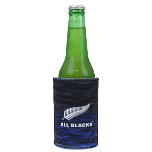 All Blacks Blue Stubbie Holder