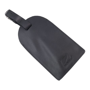 All Blacks Leather Luggage Tag
