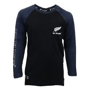 All Blacks Raglan Long Sleeve T Shirt