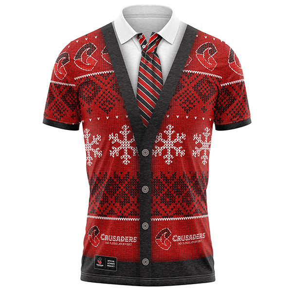 Crusaders Xmas Shirt
