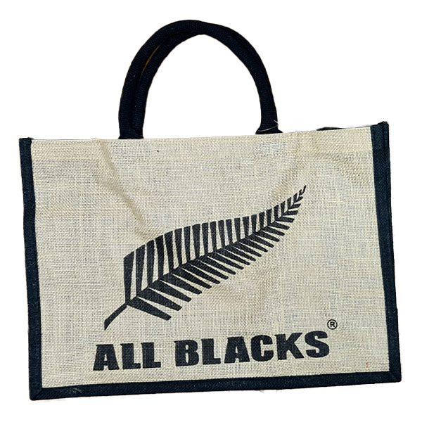 All Blacks Reusable Tote Bag