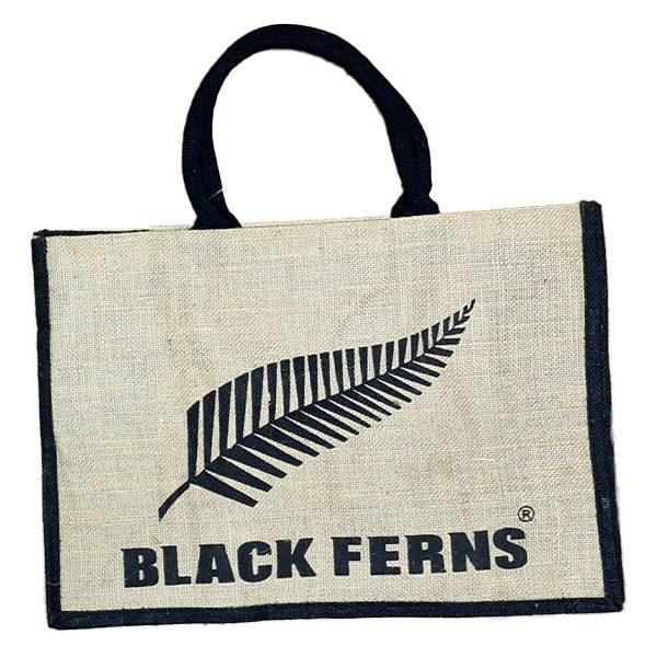 Black Ferns Reusable Tote Bag