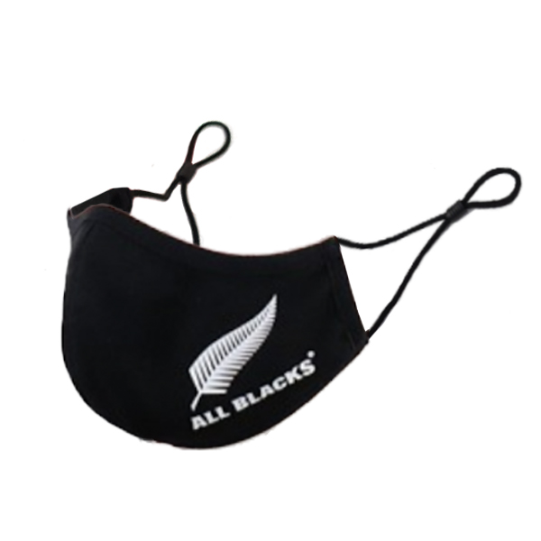 All Blacks Antibacterial Face Mask - Adult Size