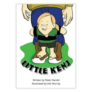Little Kenj Book for young up-and-coming aspiring Black Ferns Players