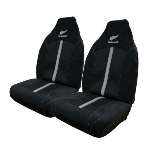 All Blacks Car Seat Cover - Pair