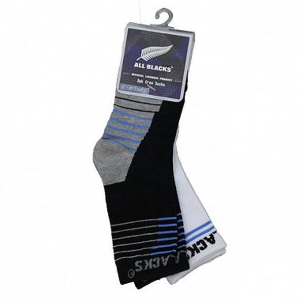 All Blacks Kids Crew Socks - 2 Pack